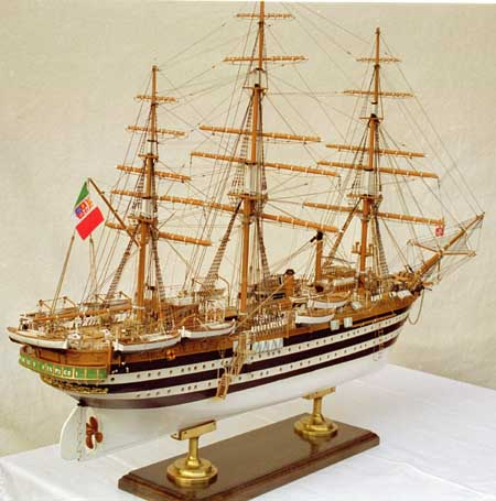 Ship model Amerigo Vespucci
