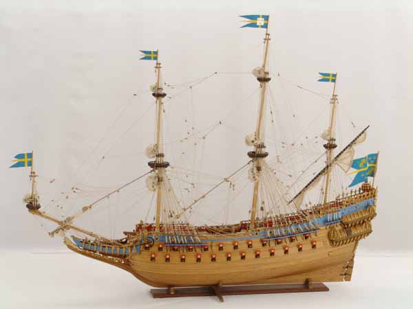 Historic ship models - Swedish VASA of 1628
