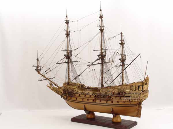 Historic ship model - Sovereign of the Seas of 1637